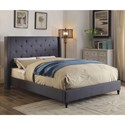 FUSA Anabelle Full Bed - Item Number: CM7677BL-F-BED