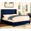 FUSA Anabelle Full Bed - Item Number: CM7677NV-F-BED