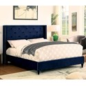 FUSA Anabelle Queen Bed - Item Number: CM7677NV-Q-BED