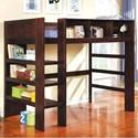 FUSA Annemarie Twin Loft Bed - Item Number: CM-BK965EX-L-BED