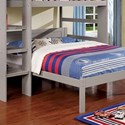 FUSA Annemarie Full Bed - Item Number: CM-BK965GY-F-BED
