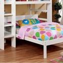 FUSA Annemarie Full Bed - Item Number: CM-BK965WH-F-BED