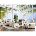 FUSA Anthea Stationary Living Room Group - Item Number: SM5140 Living Room Group