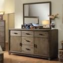 Furniture of America Antler Dresser - Item Number: CM7615D
