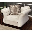 FUSA Antoinette Chair - Item Number: SM2221-CH