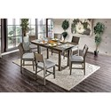 FUSA Anton II Counter Height Dining Table - Item Number: CM3986PT