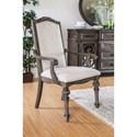 FUSA Arcadia Set of 2 Arm Chairs - Item Number: CM3150AC-2PK