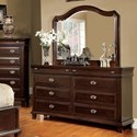 FUSA Arden Dresser & Mirror Set - Item Number: CM7065D+CM7065M