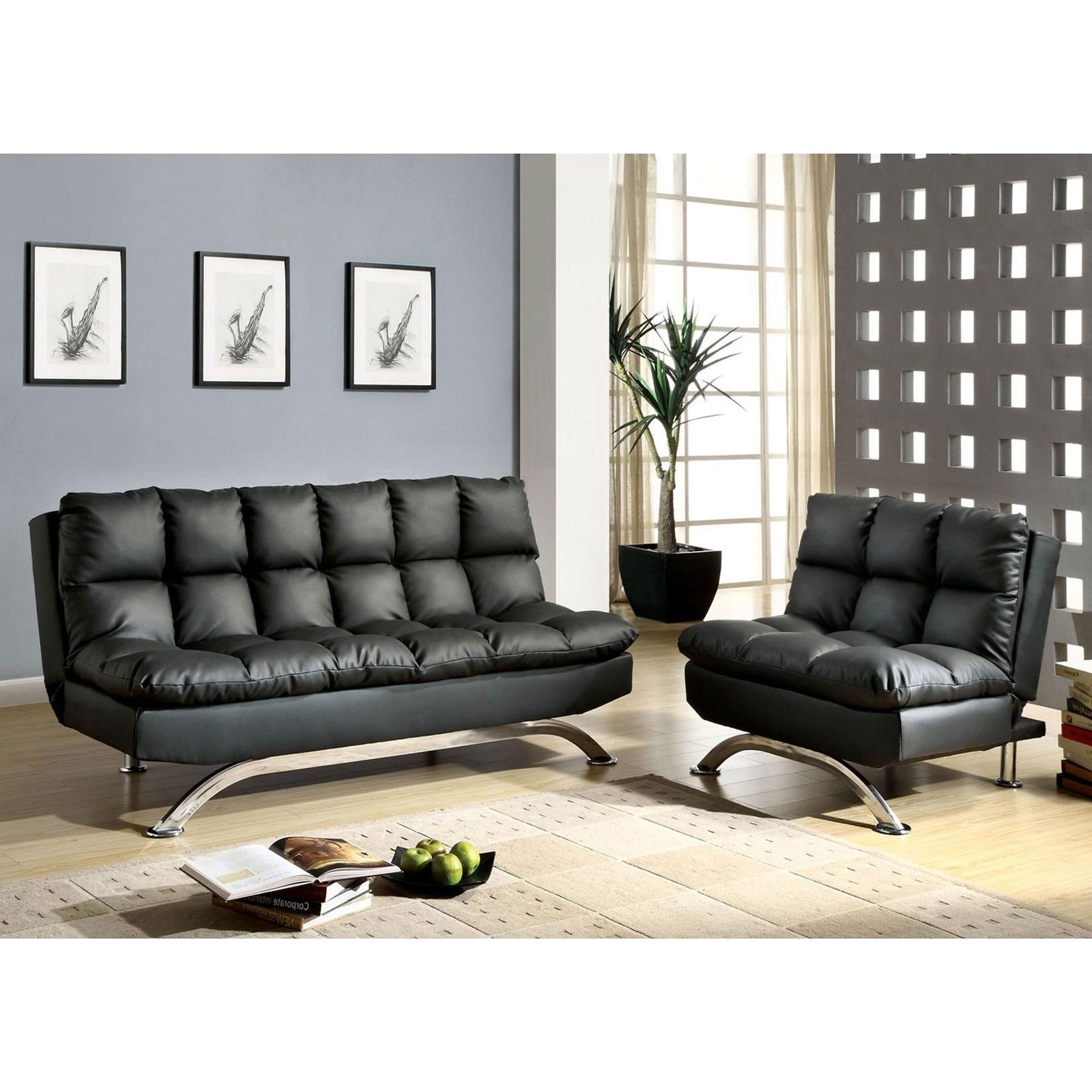 Futon Sofa + Chair