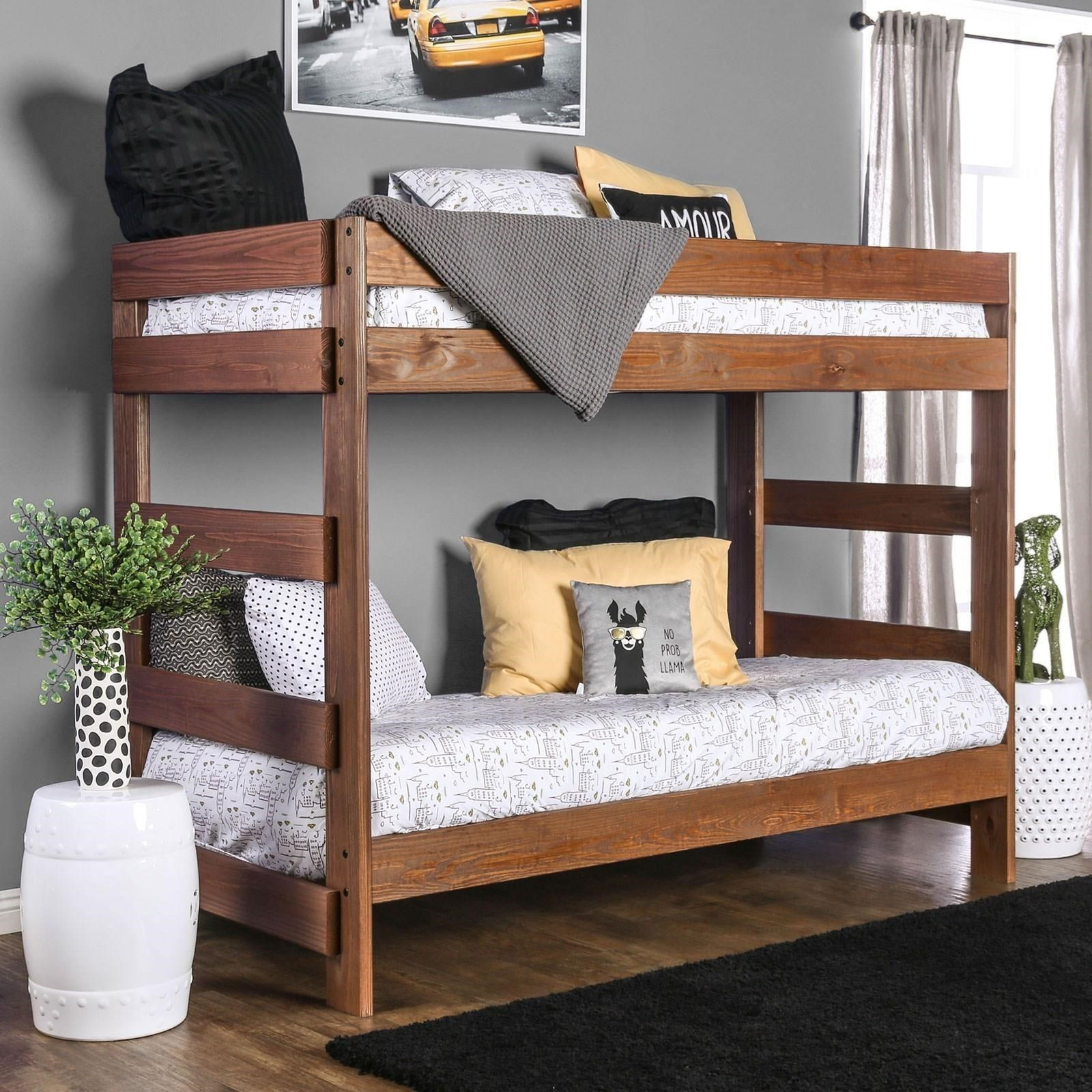 Arlette Twin/Twin Bunk Bed at Household Furniture