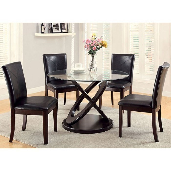 Atenna I Table and 4 Side Chairs at Household Furniture