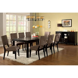 Table + 8 Side Chairs