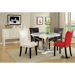 Furniture of America Belliz Round Dining Table