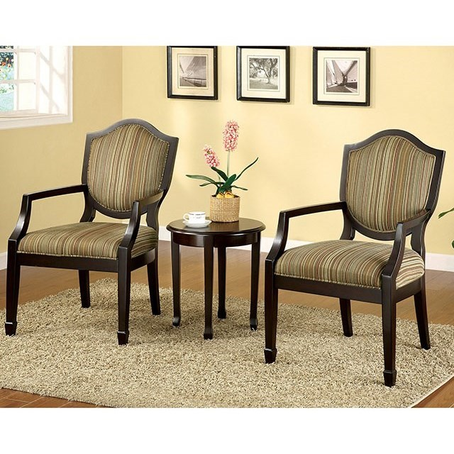 Bernetta 3 Pc. Accent Table & Chair Set at Household Furniture