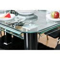 Furniture of America Berthold Dining Table - Item Number: CM3364BK-T-TABLE