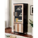 Furniture of America Binche Pier Cabinet - Item Number: CM5592EX-PC-S