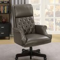 Furniture of America Bovill Office Chair - Item Number: CM-FC644GY