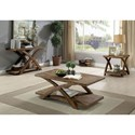 Furniture of America Bryanna 3 Pc. Set - Item Number: CM4178-3PK