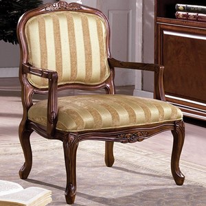 Furniture of America Burnaby Accent Chair