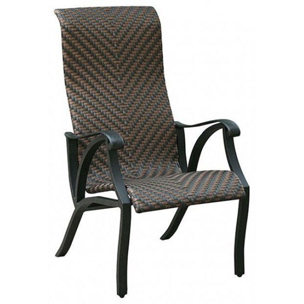Set of 2 Arm Chair, Wicker