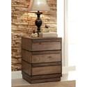 Furniture of America Coimbra Nightstand - Item Number: CM7623N