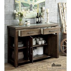 Furniture of America Colette Server