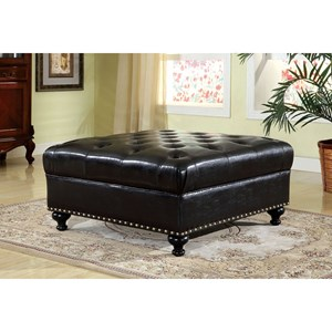 Furniture of America Dalton Ottoman