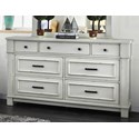 Furniture of America Daria Dresser  - Item Number: CM7562D