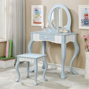 Vanity Table with Stool