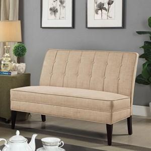 Amazing Deandra Cm Bn6544 By Furniture Of America Corner Machost Co Dining Chair Design Ideas Machostcouk