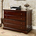 Furniture of America Desmont File Cabinet - Item Number: CM-DK6207C