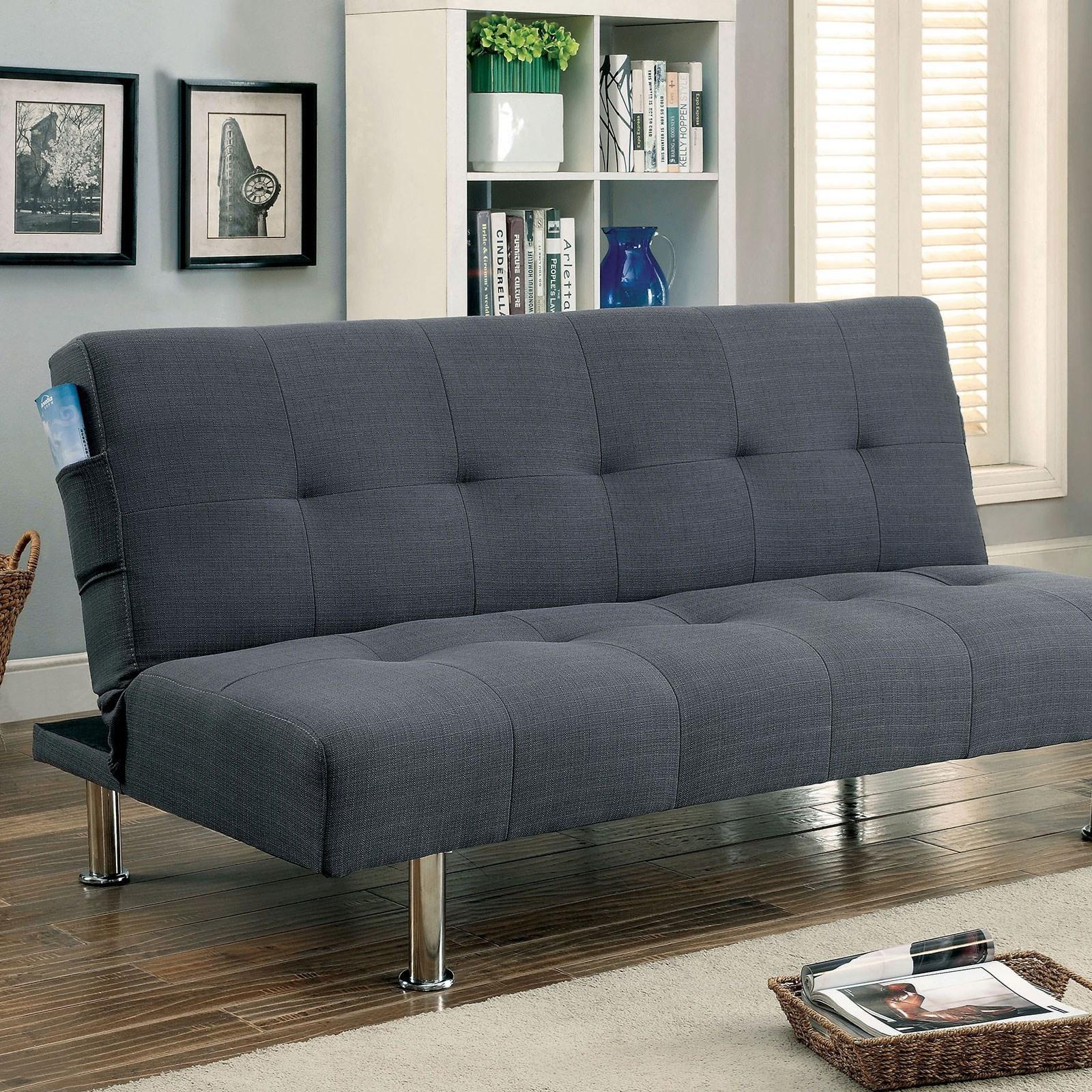 Dewey Cm2679gy Futon Sofa