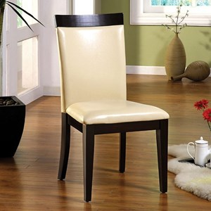 Furniture of America Downtown I Side Chair (2/CTN)