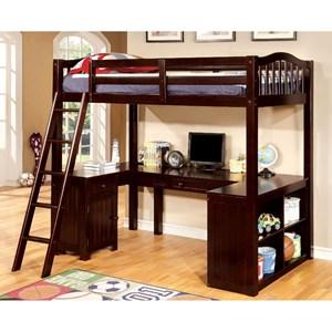 Twin Loft Bed w/ Workstation