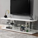 "Furniture of America Ernst 72"" TV Stand - Item Number: CM5901WH-TV-72"