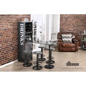 Furniture of America Galvan Bar Table