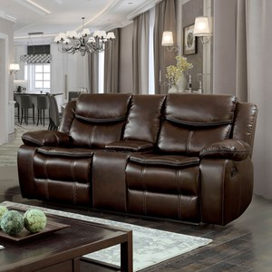 Loveseat w/ Console & 2 Recliners