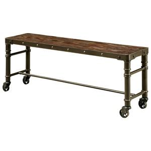 Furniture of America Gilby II Bench