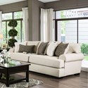 Furniture of America Gilda Sofa - Item Number: SM1272-SF