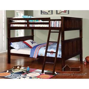 Furniture of America Gracie Full/Full Bunk Bed