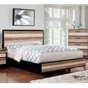 Furniture of America Hasselt Queen Bed - Item Number: CM7592EX-Q-BED