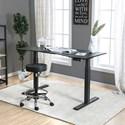 Furniture of America Hedvig Adjustable Ht. Desk - Large - Item Number: CM-DK6454L-BK