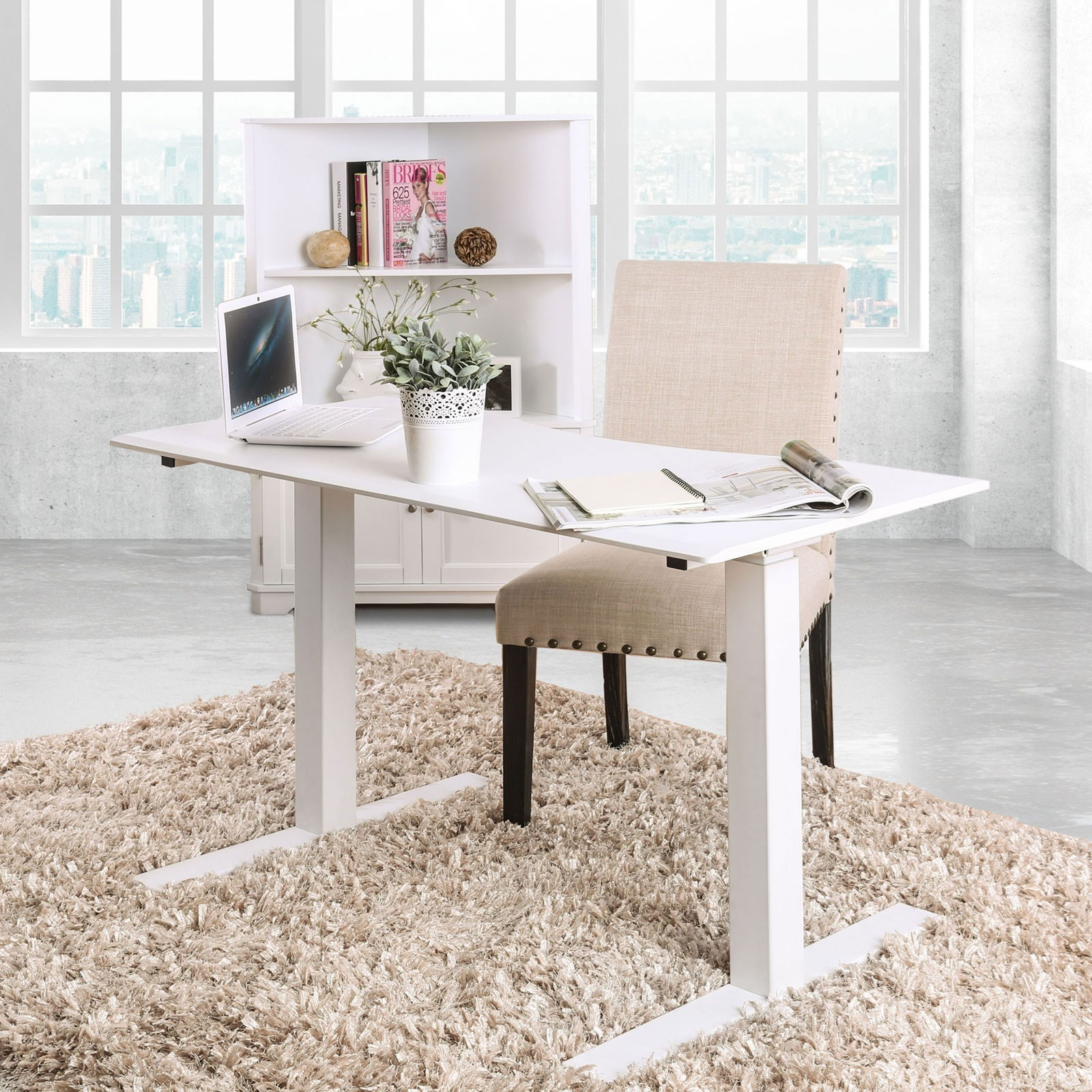 Adjustable Ht. Desk - Large
