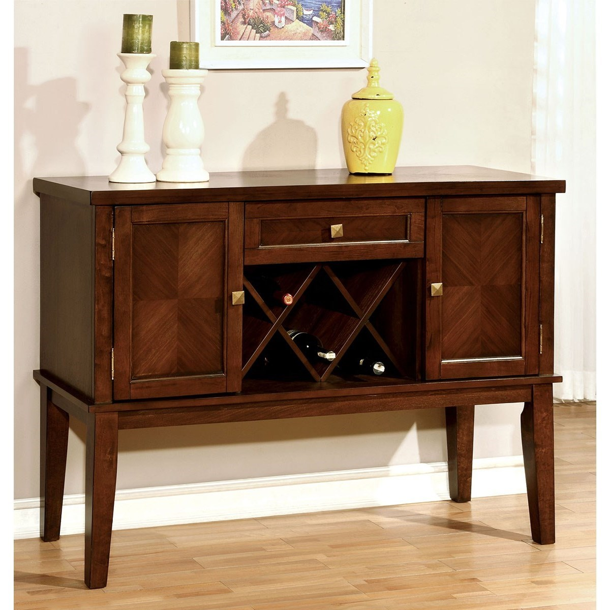 Furniture Of America Hillsview CM3916SV Transitional