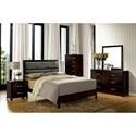Furniture of America Janine Queen Bedroom Group - Item Number: CM7868 Q Bedroom Group 1