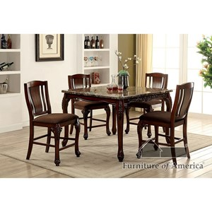 Furniture of America Johannesburg Counter Ht. Table