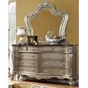 Furniture of America Johara Dresser and Mirror Set - Item Number: CM7090D+M