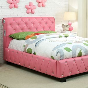 Furniture of America Julliard Full Bed