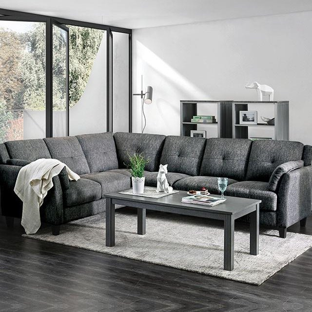 Surprising Kaleigh Sectional Cjindustries Chair Design For Home Cjindustriesco