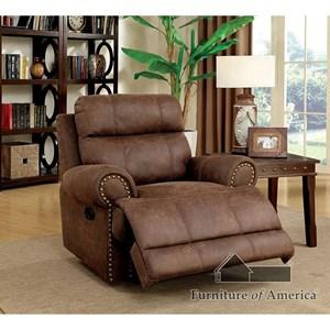 Furniture of America Kellie Recliner